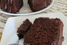 cooking - chocolate cakes & slices. / by Beverley Gillanders