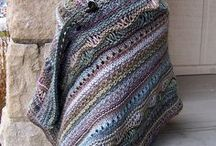 crochet & knitting - shawls rugs blankets & wraps / by Beverley Gillanders