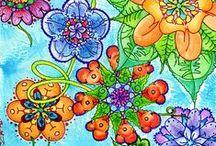 Doodles ~ Coloring & Zentangles ☪ / Oodles of Doodles