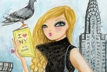 Illustrations ~ Bella Pilar ⋇⋇ / Illustrations, Art, Images
