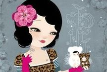 Illustrations ~ Adolie Day ⋇⋇
