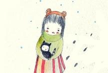 Illustrations ~ Holli ~ Paola Zakimi ⋇⋇