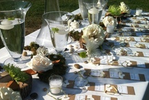 """Our Additional Wedding Designs / These are all of our own designs.  They all fall into that, """"other"""" category.  Here you will find pomanders, halos for flower girls, arches, chuppahs, tablescapes and just about everything else you never knew you needed for your wedding ;-)"""