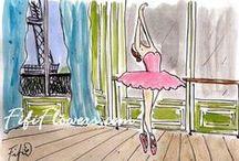 Illustrations ~ Fifi Flowers ⋇⋇
