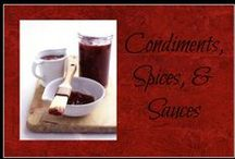Condiments, Sauces, & Spices / Recipes for condiments, spice mixes, and sauces