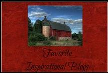 Favorite Inspirational Blogs / My favorite inspirational blogs