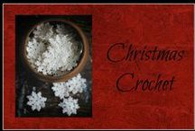 Christmas Crochet / Crochet patterns to make for Christmas decor & gifts
