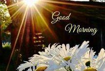 Illustrations ~ Good Morning ⋇⋇ / Good Morning Wishes