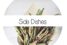 Side Dish / Almost every meal needs a side dish in my opinion. Lost on what to put with your dinner? Here's some ideas!