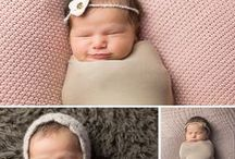 Newborn Photography / Newborn baby photography, posed at home photo sessions.