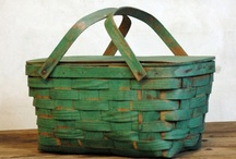 Baskets / I have a weakness for a great basket!  Love!