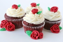 Cupcakes / Cupcakes are really just mini fun instead of baking a whole cake and oh so cute!