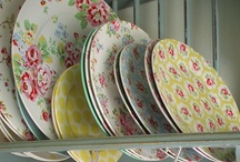 Dish Love / I love dishes and am a HUGE collector of them!