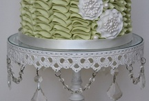 Cake Stands / I will admit it!  I have a weakness for cake stands and dishes and teacups!  Oh my!