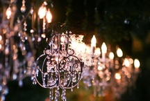 Crystal Love and Lighting / Crystal goes with anything and all lights don't have to be crystal {although I would like them to}!