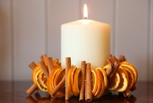 Candles / I love doing anything under candlelight!  It makes everything magical!