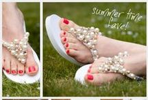 Sandal Style / My toes love Summer and Sandals!  Good thing I live in the desert where we can wear them year round!