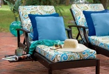 Outdoor Lounge Furniture / Bring living room comfort outdoors with quality patio furniture from Improvements. Lots of unique styles and finishes of outdoor lounge furniture, hammocks, patio rockers and casual seating.  / by Improvements Catalog