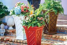 Outdoor Decor / Spruce up your backyard with some outdoor decor items.