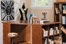 Craft Room Ideas / Creative craft room ideas - craft room furniture, storage tips, and fun decor.