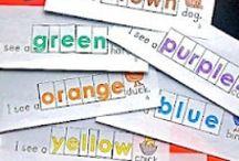 Kindergarten Color Words / by Kelly Feldkamp