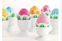 Easter ~ Eggs / Everyone loves a good old-fashioned Easter Egg Hunt and decorating the eggs too!  So many creative ways to do this now.