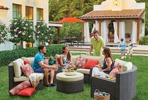 Outdoor Living Rooms / Bring the indoors outside with these outdoor living room ideas.