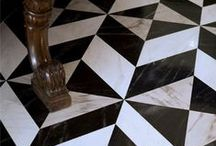 Flooring Inspirations / various installations of flooring which inspire me..patterns, materials etc.