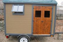 tiny / trailer / tree house ideas