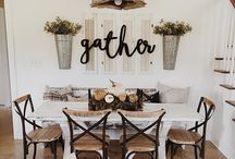 HOME DECOR IDEAS / Home decor ideas. Paint, flooring, furniture, set-up, wall art, gallery walls, decor suggestions.