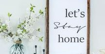 PRINTABLES / Seasonal and everyday printables - mostlty free - to add a splash of decor to your home.