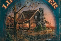 ~ Log Home's,Cabins & Decore ~ / by T.J. Plaxton