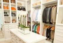 CLOSETS / Beautiful walk-in closets