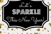 NEW YEAR / Ideas of how to entertain for New Years Eve. New Years Eve, parties, party inspiration, party decor, cocktails, food, party printables.