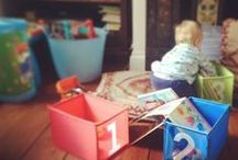Organising Toys / We have toys everywhere! Here are a host of ways to organise toys to restore order.