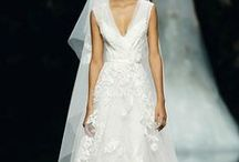 El vestido de novia....