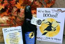 HALLOWEEN FUN / Halloween tricks, treats, boo's and fun entertaining and party ideas.