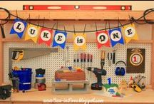 Handyman Birthday Party / Handyman 1st Birthday Party / by Mrs Herbeck