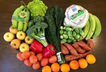 Feb 23 - 27, 2015 / Fuji or Autumn Glory Apples - Berries - Covington Sweet Potatoes - Broccoli - Red Bell Peppers - Sugar Snap Peas - Cauliflower - Romanesco - Bananas - Roma Tomatoes - Blood Oranges - Collards - Rainbow Chard - Lacinato or Curly Kale - Brussels Sprouts, Plantains / by Annie's Buying Club