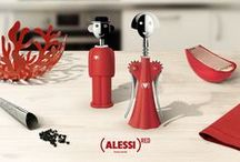 Alessi X (RED) / Alessi and (RED). A partnership to support the fight against AIDS. / by Alessi