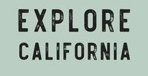 Explore California / Fun adventures and local flavors to try in California, USA!