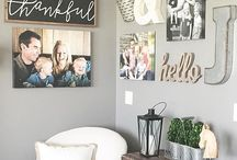 GALLERY WALLS / Gallery wall inspiration. Gallery wall, photo walls, art for walls.