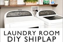 LAUNDRY ROOM / Styling a laundry room and also utilizing storage for maximum function.