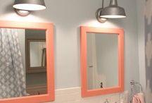 BATHROOMS / Bathrooms, bathroom, decorate, inspiration, bath, home decor