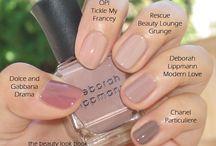 NAILS / Pretty manicure and pedicure ideas. Nail polish and design.