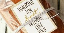 HOSTESS GIFTS / Creative ways to spoil that special hostess. Think outside the box and create something unique as a big thank you for having you.