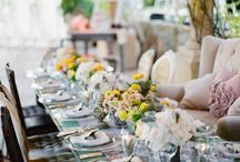 T A B L E S C A P E S / party inspiration.... You never know when you going to need it