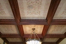 Beamed/Coffered Ceilings