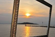 Lake Trasimeno / Magnificent Lake in Umbria with its natural beauty and stunning scenery.