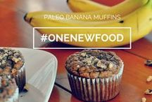 One New Food / Teaching kids to try new and healthier foods #onenewfood